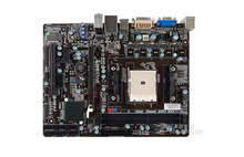 100% original motherboard for Biostar Hi-Fi A75S3 DDR3 Socket FM2 USB3.0 free shipping