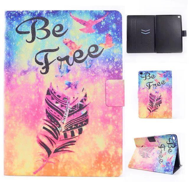 2017 New Colorful Case Cover  Slim Leather PU Flip Cover Case Stand Shell Housing Protector For iPad Air iPad 5 Case 9.7 inch липпицианская кобыла schleich