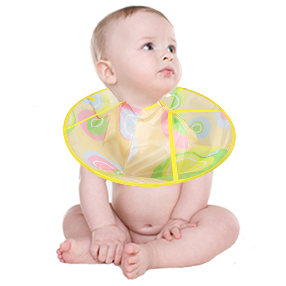 Baby Rib Cape Apron For Haircut Foldable Hairdresser Barber Apron