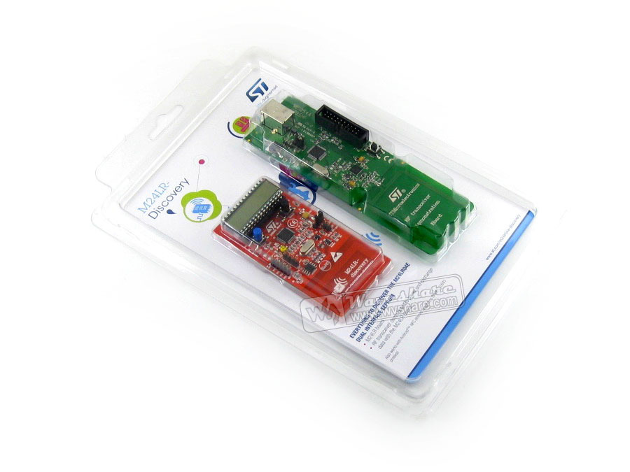 STM32 M24LR-DISCOVERY Magical Battery-less M24LR STM32 DISCOVERY Board Powered By RFID. STM8L152 And STM32F103 STM32 Board