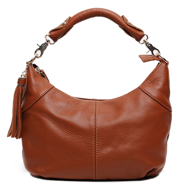 Genuine Leather Women Handbag Fashion Designer Female Evening Bags Cowhide Ladies Shoulder Messenger Purse Clutch Hobos Totes 2017 new female genuine leather handbags first layer of cowhide fashion simple women shoulder messenger bags bucket bags