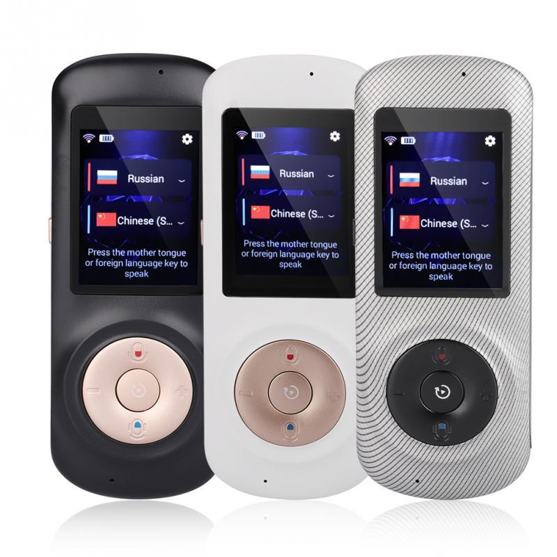 Draagbare Slimme Draadloze Vertaler Handheld Real Time Interactieve Instant Voice Vertaling Ondersteuning 52 Talen Geen Lawaai-in Vertaler van Consumentenelektronica op  Groep 1