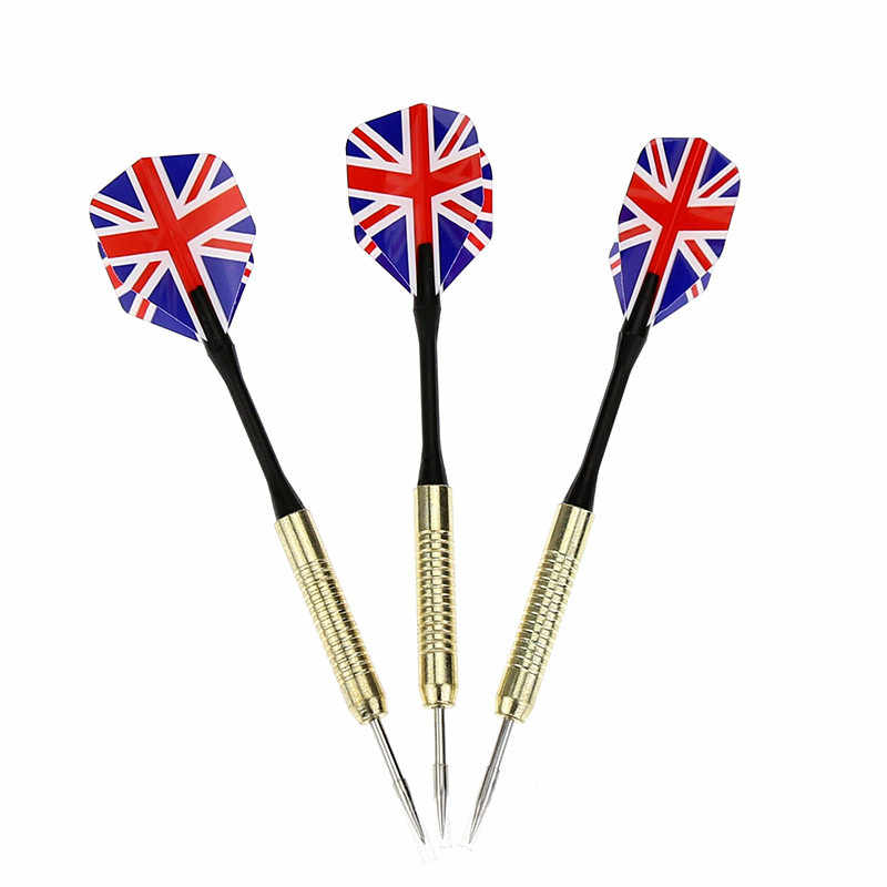1PCS Hot Anti-fall All-metal National Flag Darts Needle Throwing Professional Game Dedicated Darts Wear-resistant Dart Anti-fall
