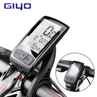 GIYO large screen bicycle computer wireless cadence waterproof bike speedometer wireless bluetooth 4.0 sensor with mount holder