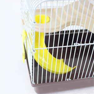 Image 5 - AHUAPET House For Hamster Hedgehog House Guinea Pig Bed Cage For Hamster Small Animal Products Cage Chinchilla  Accessories H