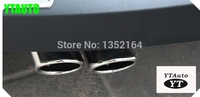 Tail pipe exhaust tip muffler for volkswagen vw Tiguan,passta B7 car styling