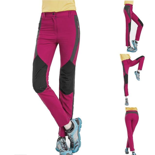 edd2f3652 US $25.99 |Hot Womens Sunscreen Outdoor Trekking Trousers Anti uv  Sweatpants Quick Dry Sport Climbing Hiking Pants Women Pantalones Mujer-in  Hiking ...