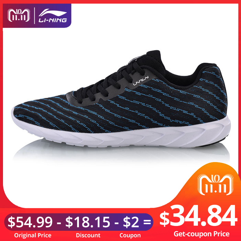 Li-Ning Men BASIC RUNER Running Shoes Mono Yarn Breathable LiNing Light Weight Sneakers Fitness Sport Shoes ARBN013 XYP688 сумка рюкзак для обуви академия групп marie cat 43 34 1см mcbb ut1 883