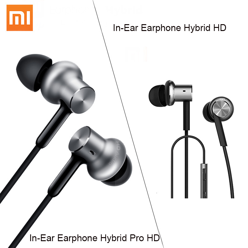 New Original <font><b>Xiaomi</b></font> Hybrid Pro <font><b>HD</b></font> <font><b>Earphone</b></font> Circle Iron Wired <font><b>Xiaomi</b></font> Earset Noise Cancelling <font><b>Xiaomi</b></font> Mi In-Ear <font><b>Earphone</b></font> Pro <font><b>HD</b></font> image