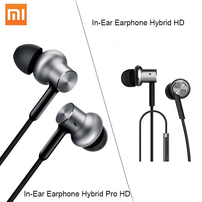 Novo original xiao mi híbrido pro hd fone de ouvido círculo ferro com fio xiao mi fone de ouvido com cancelamento de ruído xiao mi mi in-ear fone de ouvido pro hd