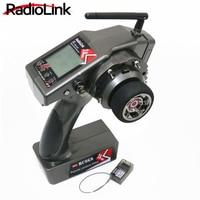 RadioLink RC6GS 2.4G 6CH Rc Car Controller Transmitter + R6FG Gyro Inside Receiver for RC Car Boat (400m Distance)