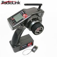 RadioLink RC6GS 2 4G 6CH Rc Car Controller Transmitter R6FG Gyro Inside Receiver for RC Car