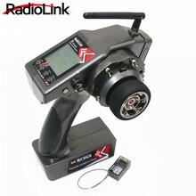 RadioLink RC6GS 2,4g 6CH Rc controlador de coche transmisor + R6FG Gyro receptor interior para RC Car Boat m (400 m de distancia)