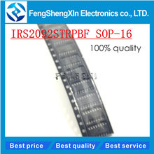 10pcs/lot IRS2092STRPBF IRS2092S SOP-16 Digital power amplifier Audio amplifier chip IRS2092(China)