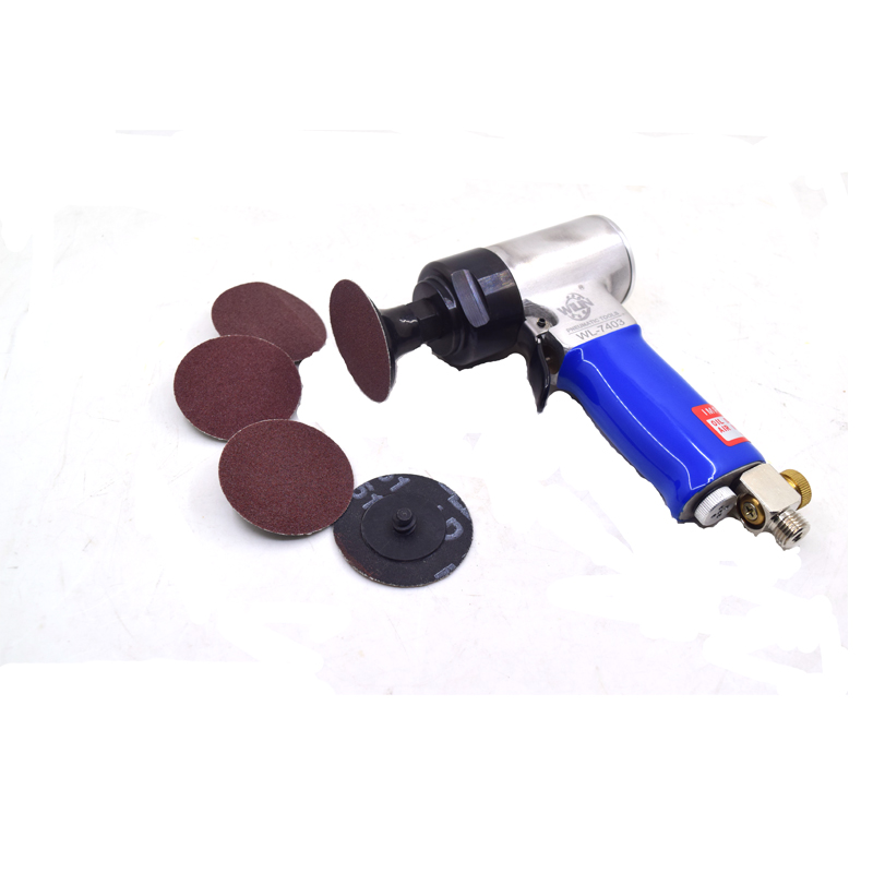 Industrial Grade Mini 2 inch Air Disc Sander Pneumatic Orbital Sander 50mm Polishing Grinder 6 Units Disc SetIndustrial Grade Mini 2 inch Air Disc Sander Pneumatic Orbital Sander 50mm Polishing Grinder 6 Units Disc Set