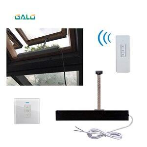 Image 2 - אוטומטי בית חלון פותחן/חשמלי בית חלון פותחן (שלט רחוק + מקלט כלולים) פתוח 300mm גודל קטן
