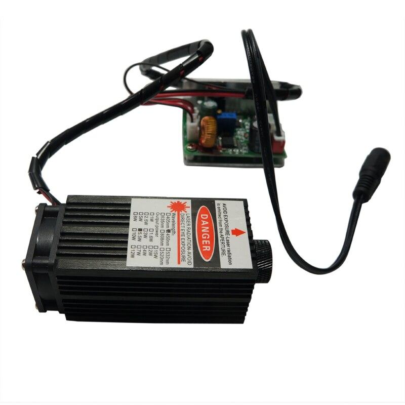 Laser gravure Machine laser tête Module 500mw 2.5w 5.5w costume pour bricolage 1610 2418 3018 CNC routeur