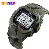 Reloj Digital Luminoso a prueba de agua SKMEI 1471 reloj de pulsera militar deportivo para hombre reloj de pulsera reloj Masculino relojes para hombre