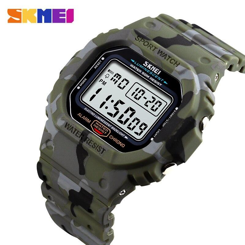 Reloj Digital luminoso impermeable SKMEI 1471, reloj deportivo militar para hombre, relojes para hombre, relojes para hombre