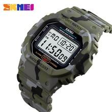 SKMEI 1471 Waterproof Luminous Digital Watch Military Sports Men Wristwatch Men'