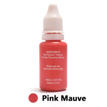 Professional Tattoo Ink Microblading Permanent Makeup Micro Pigment For Eyebrow Lip Eyeliner 1/2 Oz 15ML Pink Mauve 1Piece