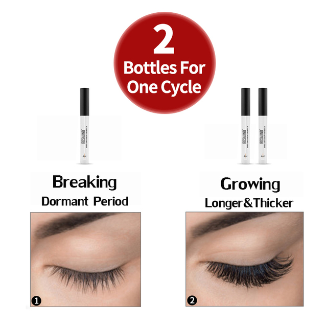 ROSALIND Eyelash Enhancer Lamination Growth Eyelash Serum Professional Longer Eyebrows Enhancer Natural Eye Makeup Lash Lift 4