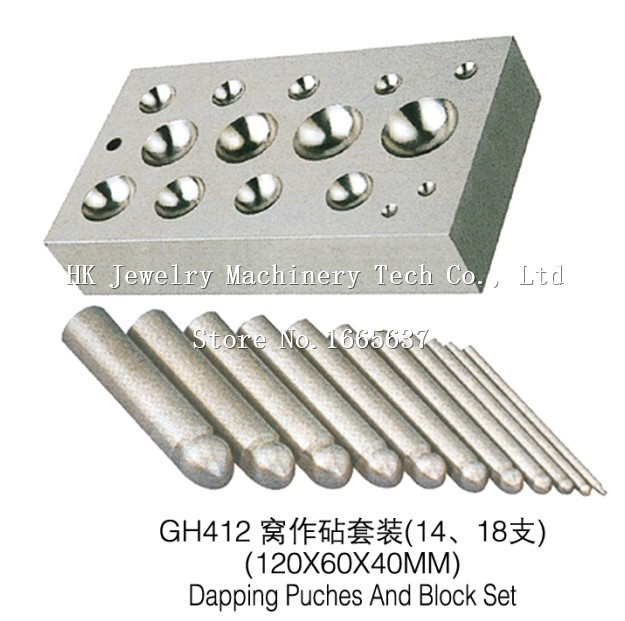 Hot sale 1pc/lot Dapping Puch,Dapping Punches,dapping block set jewelry tools and mchine hot sale professional eurpean standard press brake dies and punches