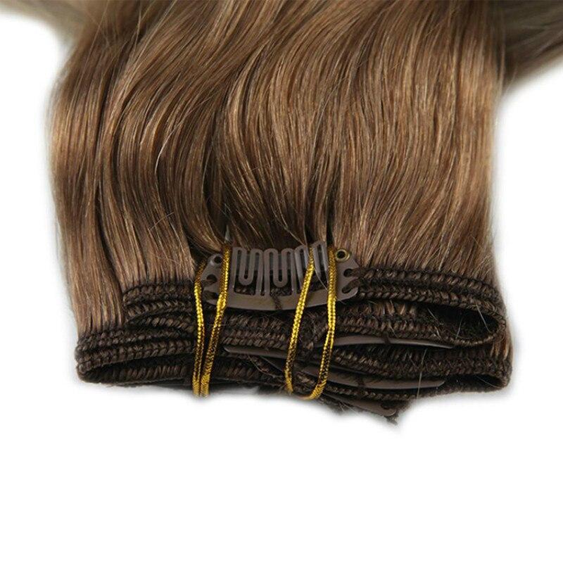 100% Huamn Haar Clip In Haar T Farbe Clip In Menschliches Haar Extensions Kostenloser Versand Dhl Remy Haar 8 Teile/satz