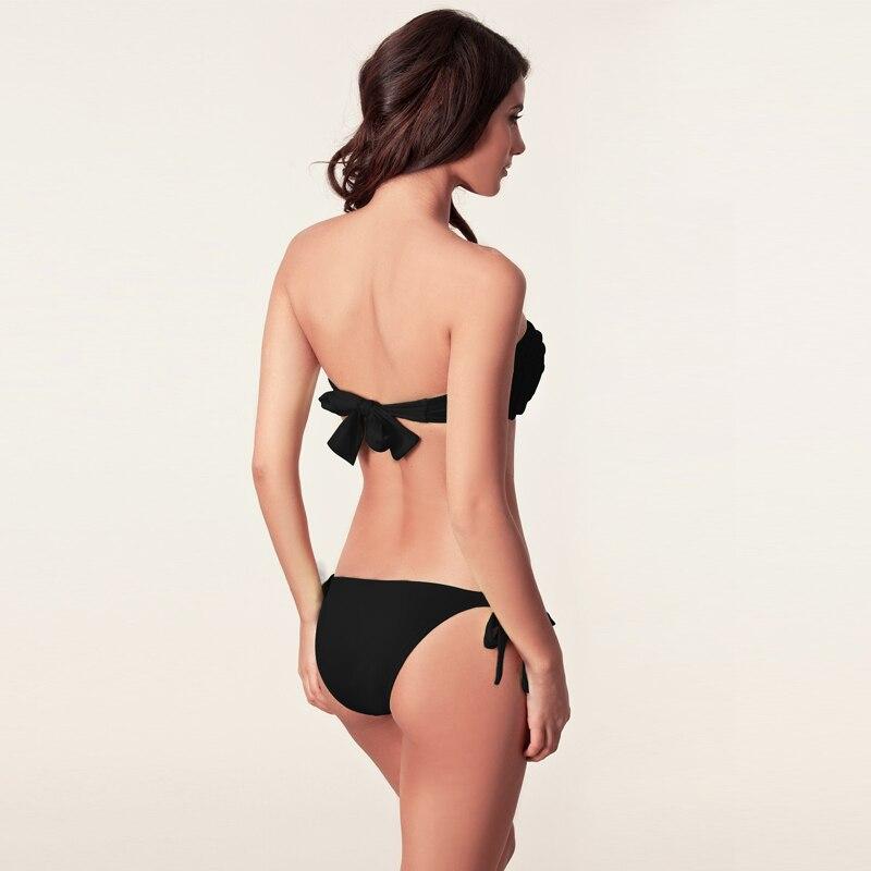 Qadın Bikinis 2019 Yeni üzgüçülük Bandaj Braziliya Qadın - İdman geyimləri və aksesuarları - Fotoqrafiya 4