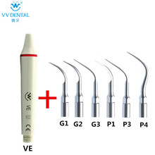 Zahnaufhellung Ultraschall-Zahnsteinentferner Handstück supragival Spitze und Perio Spitze kompatibel mit EMS WOODPECKER