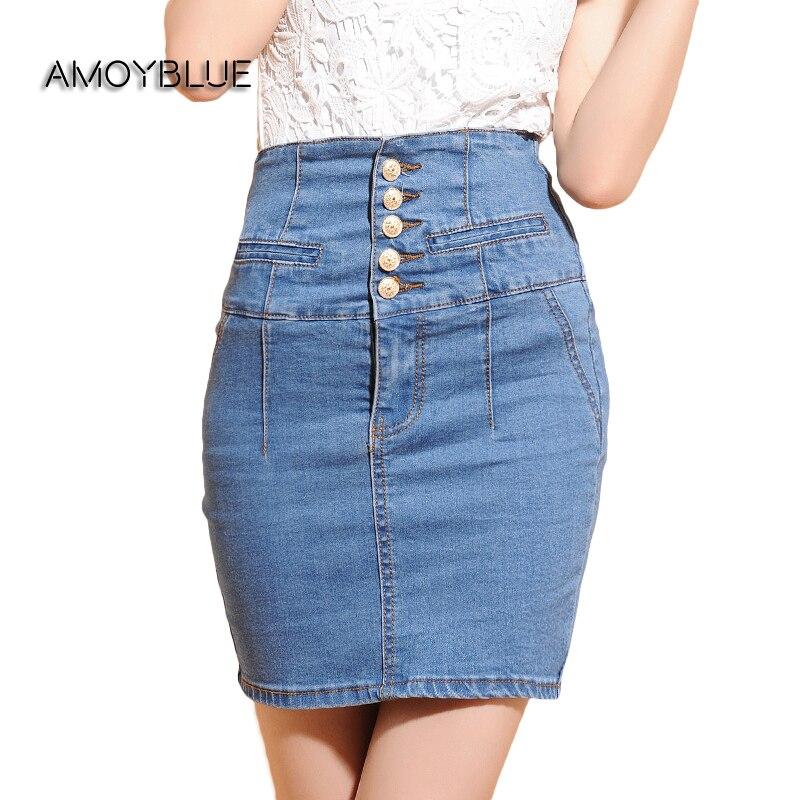 Popular Denim Mini Skirts-Buy Cheap Denim Mini Skirts lots from ...