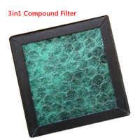 Filtre Hepa de filtre composé 3in1 pour Nobico NBO-J003/J006/J008/J009 (A)/J011 PM2.5 purificateur d'air d'odeurs de Pollen de formaldéhyde de poussière