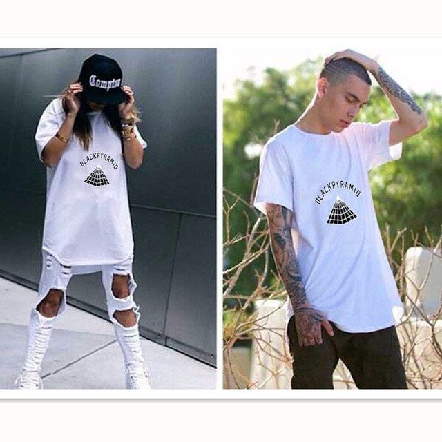 516250c136af Fashion T Shirt Men Women 2017 Chris Brown New Brand BLACK PYRAMID Rap Hip  Hop Men T-shirt Justin Bieber Summer Cotton Tees