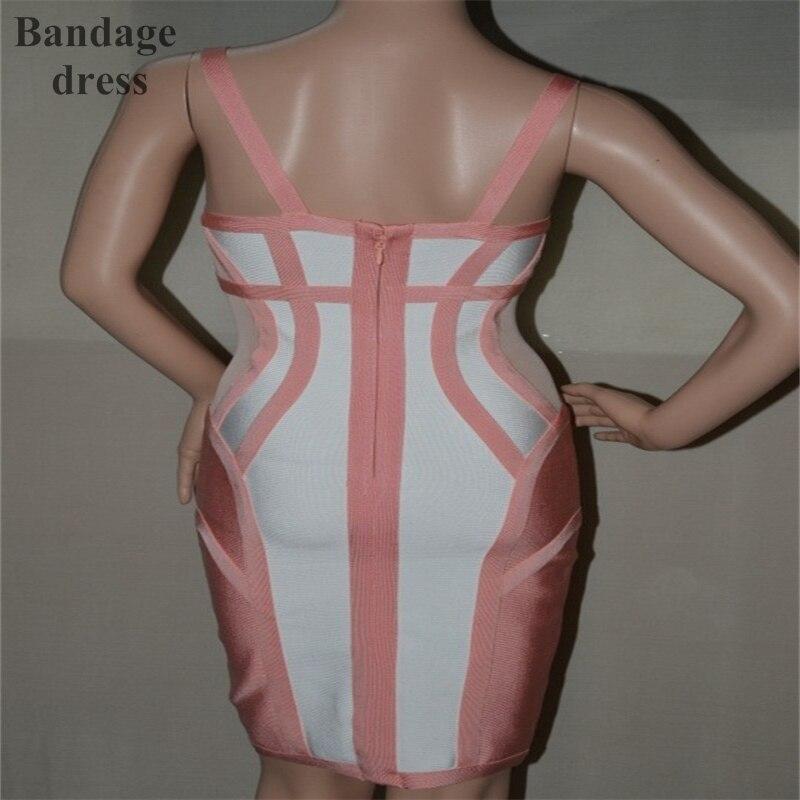 2017 new style Summer spaghetti strap sexy and elegant Women Summer bandage Dress