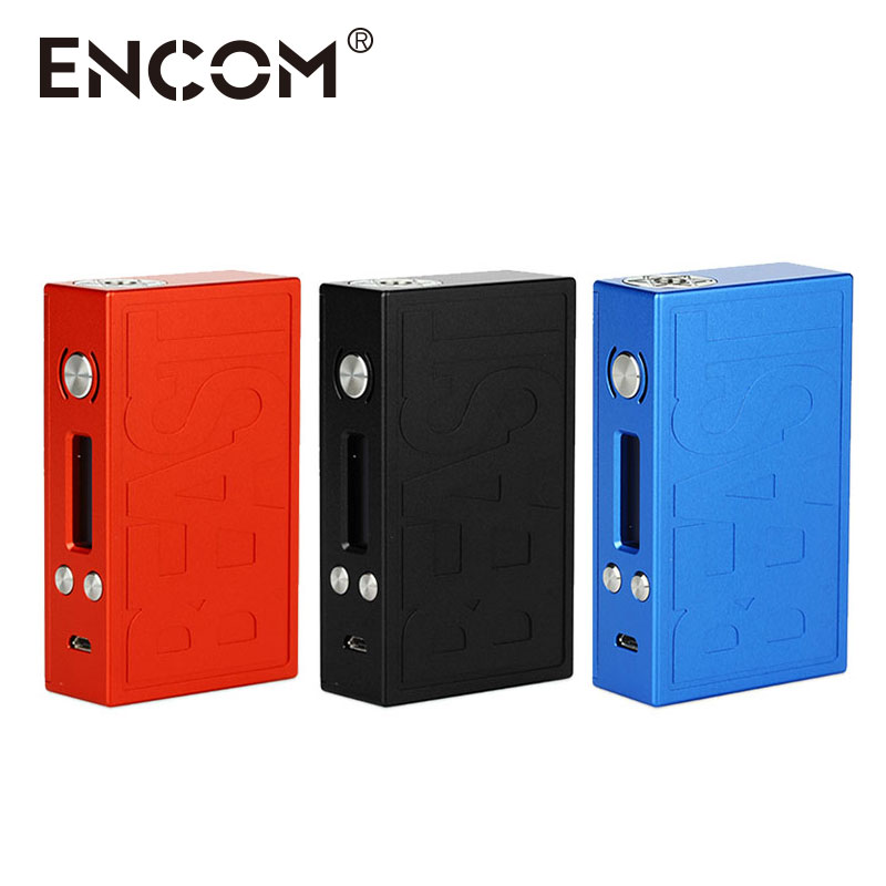 100% Original ENCOM New Beast DNA 75W TC MOD Preciosity Cabin Appearance Max 75W with Temp Control Powered by Evolv DNA 75 Chip