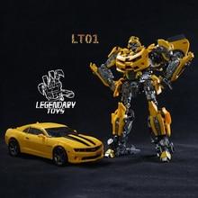 Legendariska Leksaker Transformation MPM03 TF5 Movie KO Mästerverk LT01 Action Figurrobot Leksaker Collection Battle Blade Battle Hornet