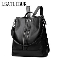 WOMEN BAG NEW FASHION WOMEN BACKPACKS Casual Preppy Style Backpack Wild Multifunction Messenger Bag Wear Large