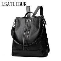 WOMEN BAG NEW FASHION WOMEN BACKPACKS Casual Preppy Style Backpack Wild Multifunction Messenger Bag Wear Large