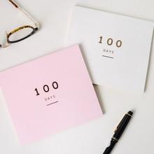 Здесь можно купить   EZONE Creative  A Hundred Days Notebook Paper Diary Weekly Monthly Plan Day Planner Agenda Organizer School Supplies Stationery Notebooks & Writing Pads