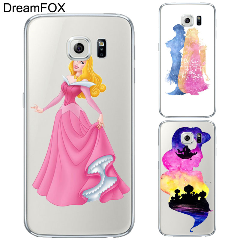 DREAMFOX L352 Sleeping Beauty Soft TPU Silicone Case Cover For Samsung Galaxy Note S 3 4 ...