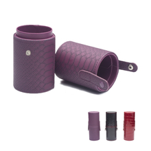 3 Color Empty Portable Makeup Brush Cup Makeup Brush Round Pen Holder Cosmetic Tool  Cup Holder Case