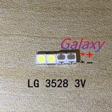 160 pces para lg original led tv lcd retroiluminação aplicação led 3528 2835 1210 contas de luz branco fresco alta potência 1 w 3 v 110lm