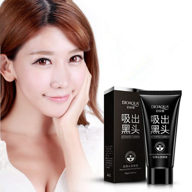 Face Care Suction Black Mask Facial Mask Nose Blackhead Remover Peeling Peel Off Black Head Acne Treatments