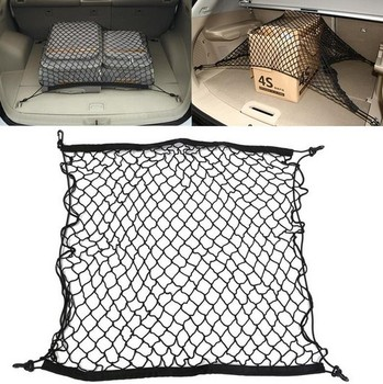 For Toyota RAV4 2013 2014 2015 2016 2017 2018 Car Trunk Luggage Storage Cargo OrganIzer Elastic Mesh Net Styling Accessories image