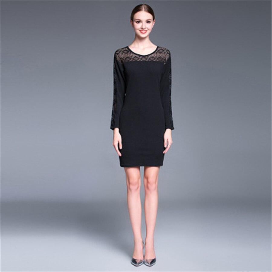 ФОТО Pregnant Lace Dress Long Sleeve Vestido Dresses For Pregnant Black Fashion Big Size Women Pregnant Dress Bodycon Dress 70R0142