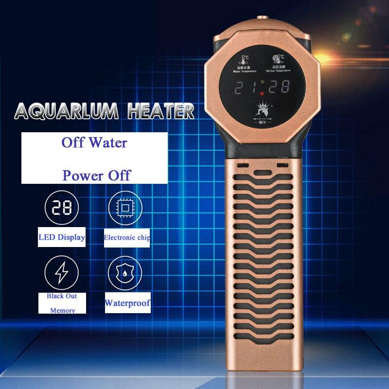 500W 800W 1000W 1500W Aquarium PTC Heater Heating Rod Temperature Controller Aquarium Thermometer Aquarium Fish Tank