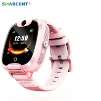 DF08 Baby Smart watch SIM Card Call Tracker Children Camera Alarm Clock Smart Kids Watch LBS Tracking Location Safe