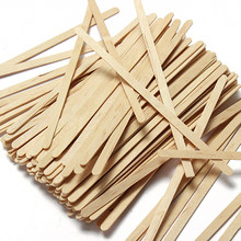 100pcs/Pack New Wooden American 1000ml Semi-hand Made Wood Ce / Eu Infusor Tea Pot Disposable Coffee Wooden Stir Stick(China)