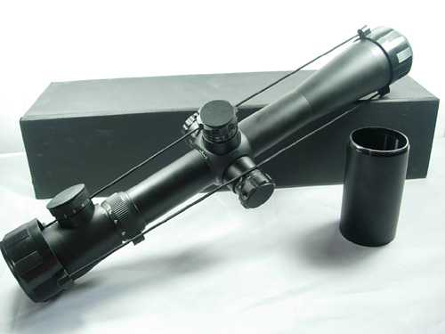 Tactcial 3.5-10x40E Military Optical Red Illuminated Airsoft Hunting Riflescopes