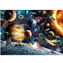 2017 Hot Sale Christmas Gift 1000 pieces jigsaw Puzzles for Adult Educational Puzzle Toys